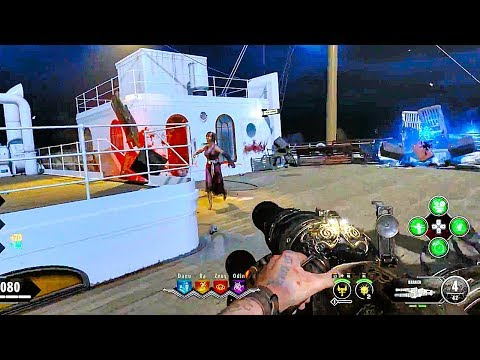 CALL OF DUTY BLACK OPS 4 Zombies Voyage Of Despair Gameplay Walkthrough [1080p HD PS4] No Commentary