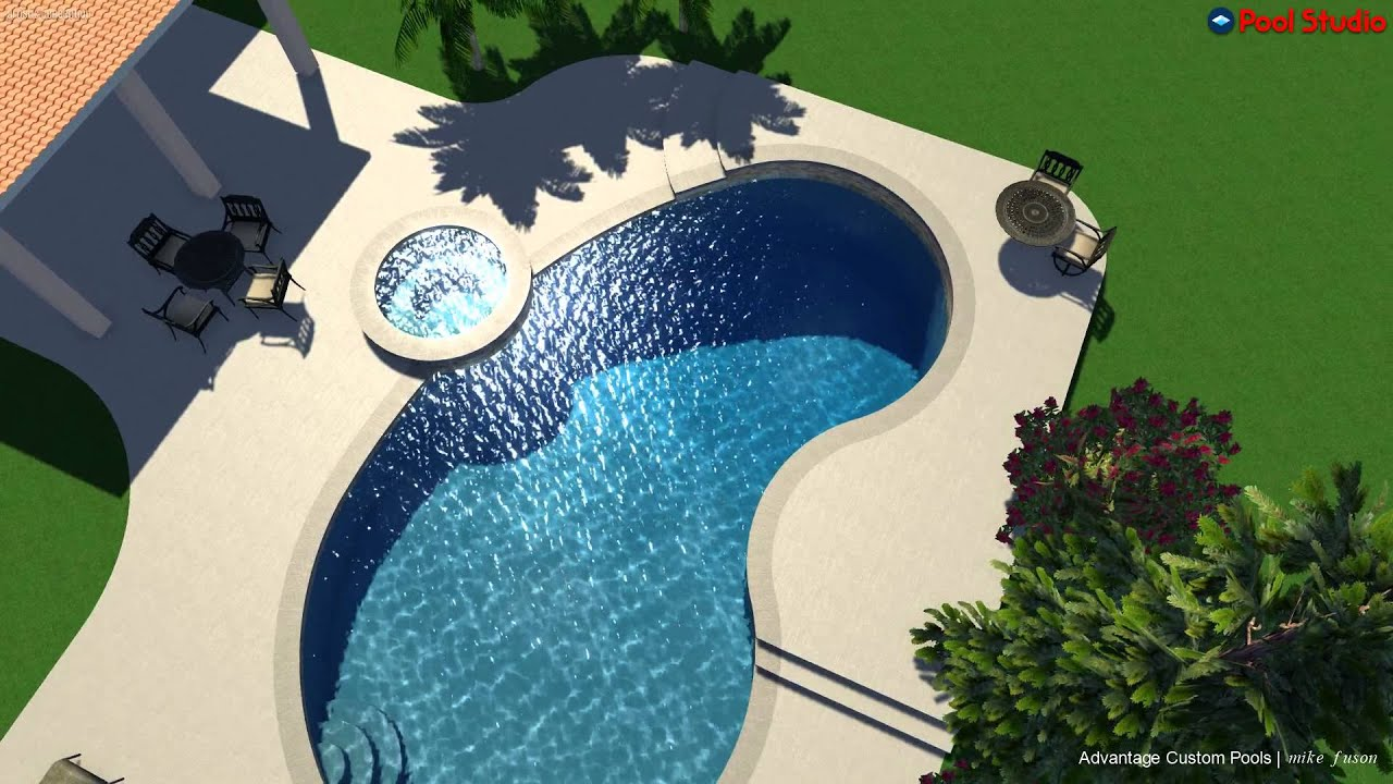 Astounding Swimming Pool Design Top View Images - Simple Design Home ...