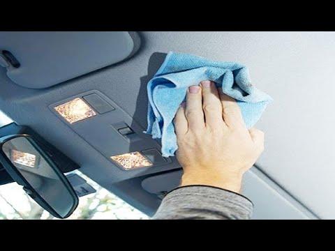 Средство для чистки потолка автомобиля своими руками