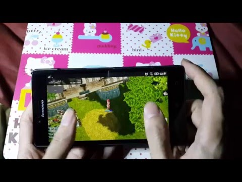 Playing Ragnarok Online #2 (AevaRO – Private Server) on Android (Lenovo A6K)