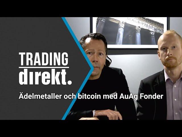 Trading Direkt 2020-12-22: Guld, silver och bitcoin med AUAG:s förvaltarduo