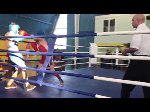 Артур Гриненко бокс Красный Сулин 1 раунд