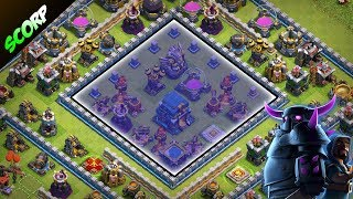 TH12 Trophy Base | Best CoC TH12 Anti 2 Star Base 2018 |Champion to Legend League  - 7 Replays