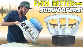 "Making MY SUBWOOFERS EVEN BETTER!!! Custom 18"" SUB Upgrade w/ THE BEST Hardware & Nice NEW Paint Job"