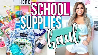 BACK TO SCHOOL SUPPLIES HAUL + GIVEAWAY!! 2018