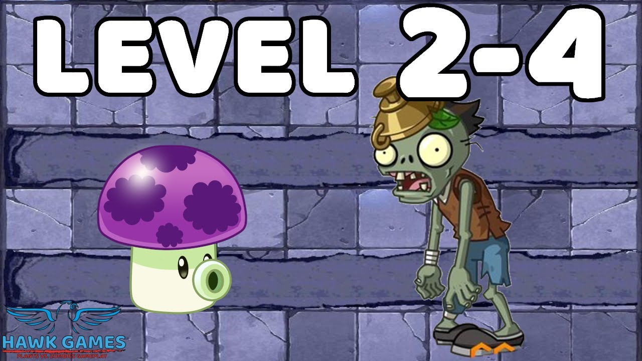 Plants vs Zombies Strategy Journey To The West 2-4