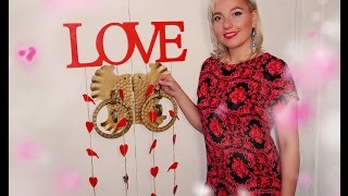 Буквы, слова, декор из дерева. LOVE