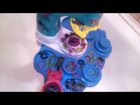 как удалить пластилин с игрушек без механических воздействий, без мыла и масла.  1 часть.