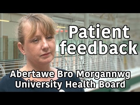 Nicola Williams - patient feedback at Abertawe Bro Morgannwg University Health Board