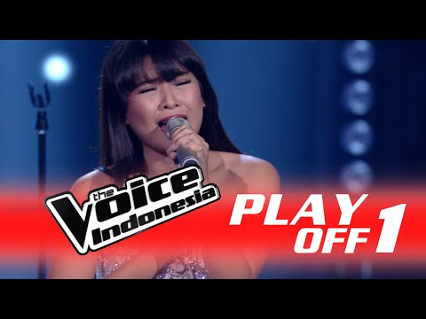 Vanessa Axelia 'Skyscraper' I PlayOff 1 I The Voice Indonesia 2016