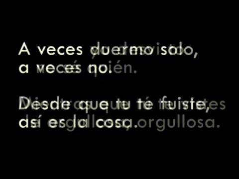 A veces - Espinoza Paz (Letra)