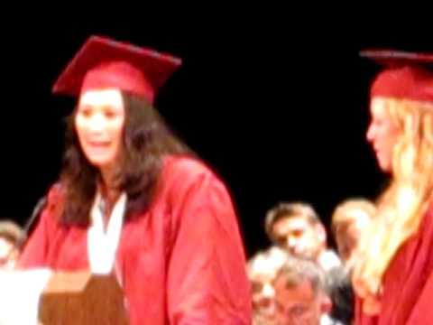 SF International High School Graduation 2010--IB Valedictorians' Speech