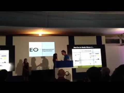 EO Netherlands best social media award