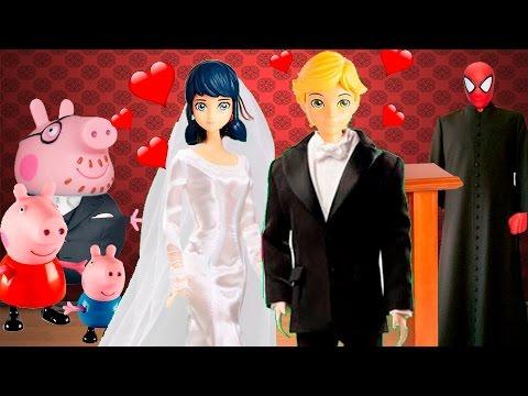 O Casamento De Marinette E Adrien Youtube