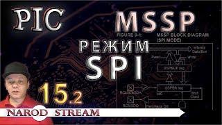 Программирование МК PIC. Урок 15. Модуль MSSP. Режим SPI. Часть 2