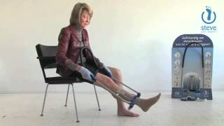 Put on compression stockings with Steve®: instructions part 2