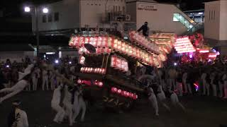 平成30年10月7日 三日市駅ロータリーパレード 小塩ぶんまわし