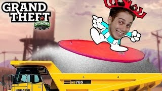 SURFING DUMP TRUCKS (Grand Theft Smosh)