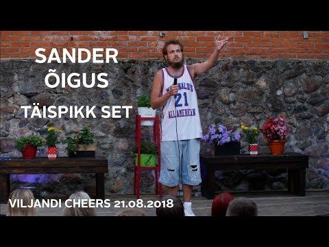 Sander Õiguse Set Viljandi Cheersis 21/07/2018