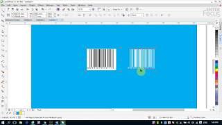 Tạo và chèn mã vạch trong CorelDRAW với Insert Barcode
