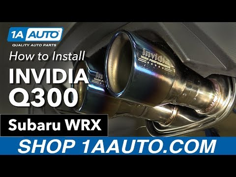 How to Install Invidia Q300 16 Subaru WRX & Before - After Comparisson