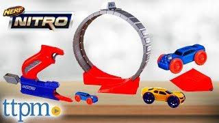 Nerf Nitro Speedloop Stunt Set Combat Blaster from Hasbro