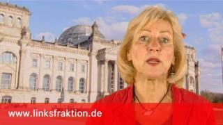 DIE LINKE, Dagmar Enkelmann: Die Alternative ist nicht prekäre, sondern Gute Arbeit