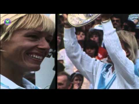 Martina Navratilova: Nine-time Wimbledon champion