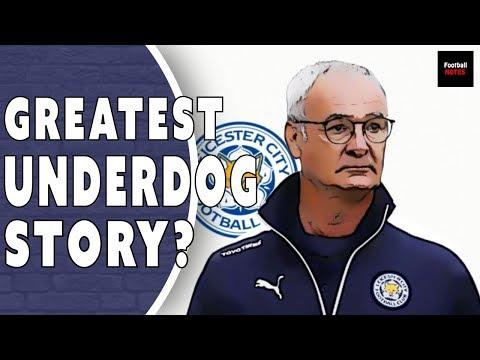 Leicester City 2015/16 Premier League Champions | Football Tactics
