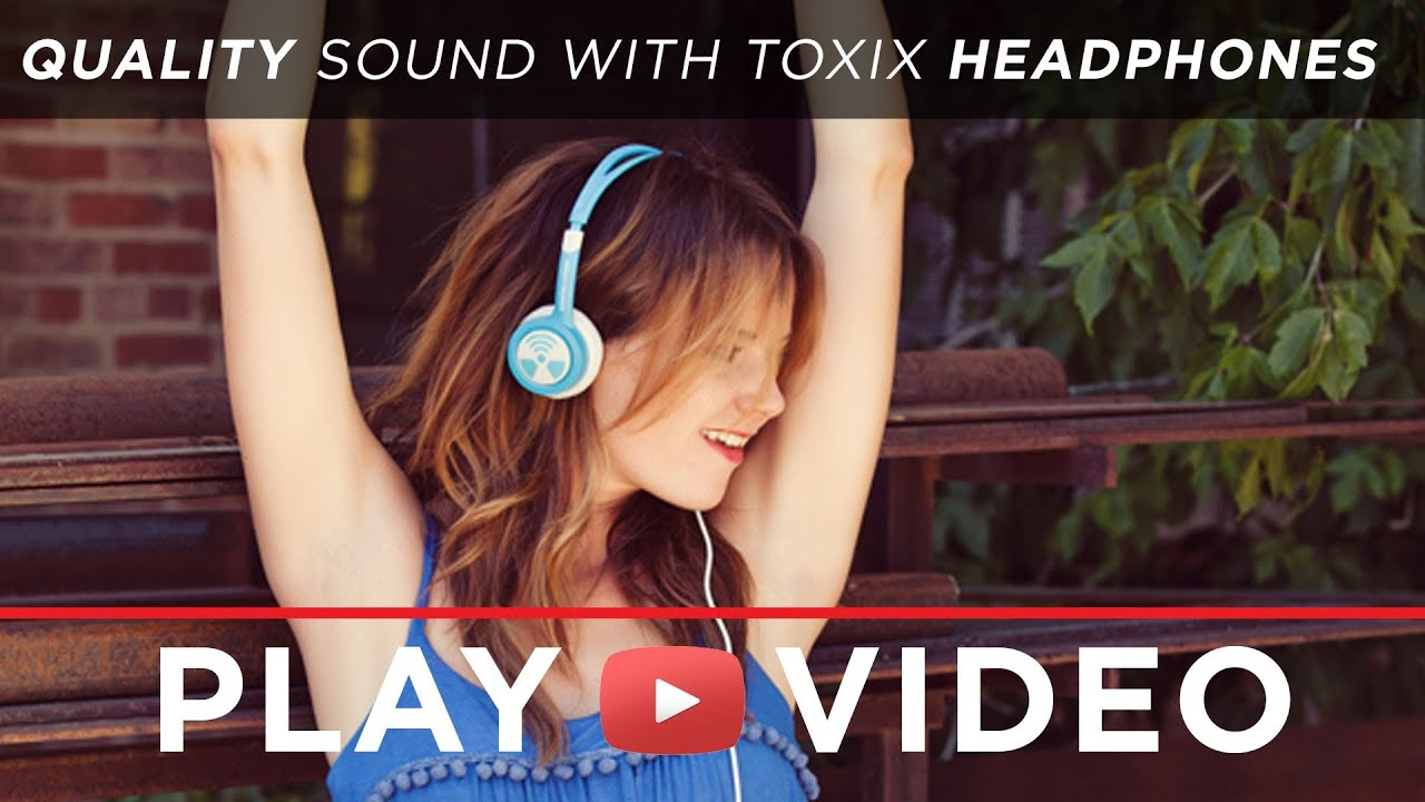 f9542bc3048 iFrogz Toxix Headphones - Product Introduction - YouTube