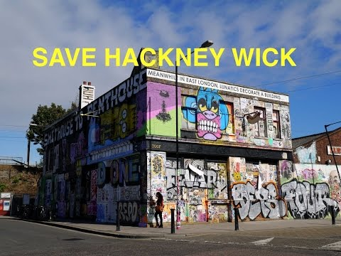Disappearing London - Hackney Wick