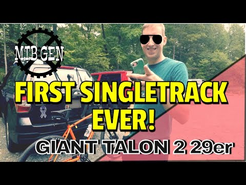 His Very First MTB Ride || And A Brand New Bike (2020 Giant Talon 29)