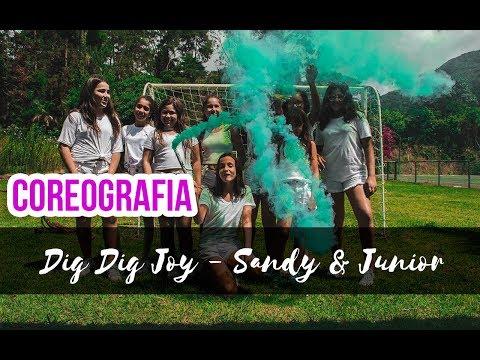 Dig Dig Joy - Sandy & Junior   Coreografia Gibson Moraes Locking
