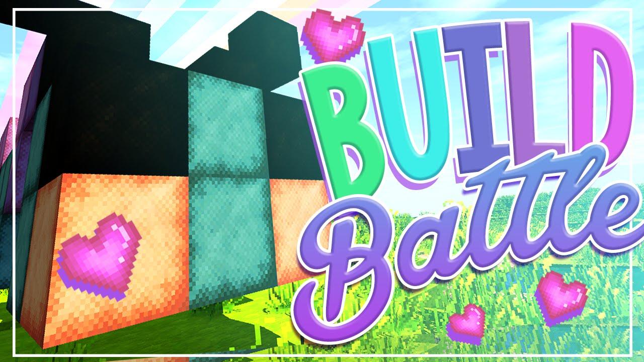 Minecraft: Build Battle - Cute Caterpillar! - YouTube