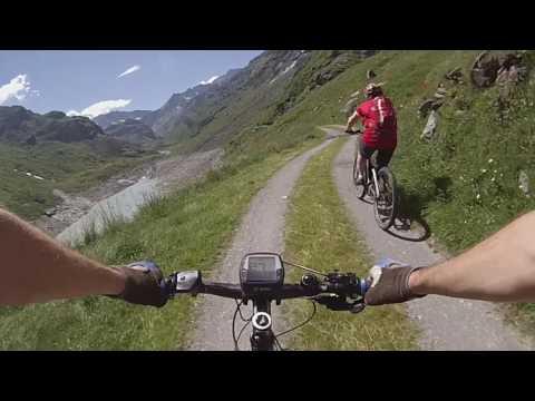 Switzerland, Valais, MTB, Mauvoisin Dam to Cabane de Chanrion, July 2016