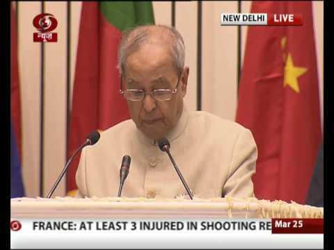 President  Mukherjee addresses World Conference on Environment