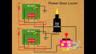 How to Wire Relay Power Door Lock(, 2012-04-24T05:02:34.000Z)