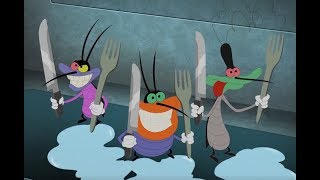 Oggy and the Cockroaches 🍔 YUMMY COMPILATION 🍔 Full Episodes in HD