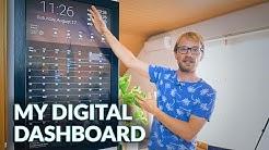Making a Digital Dashboard! (w/ Google Calendar integration)