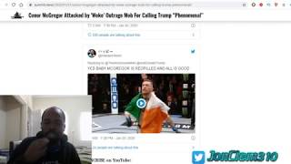 """Woke Twitter Outraged after Conor McGregor calls President Trump """"Phenominal"""""""