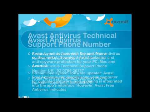 Avast Antivirus Technical Support 800-864-4162