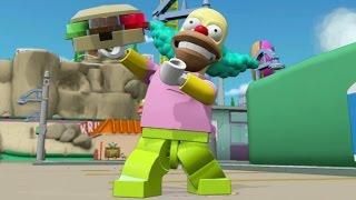 LEGO Dimensions - Krusty Open World Free Roam (Character Showcase) Video