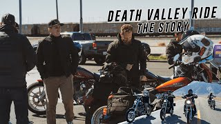 Group Death Valley Motoŗcycle Ride | The Story | 2LaneLife X THRASHIN Death Valley Run | BTS