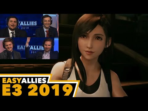 Final Fantasy VII Remake Presentation - Easy Allies Reactions - E3 2019