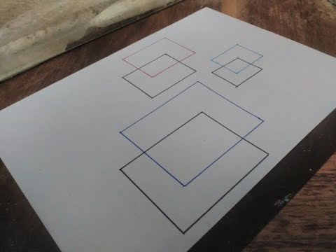 رسم 3d رسم شكل ثلاثي الابعاد سهل وبسيط للمبتدئين Youtube