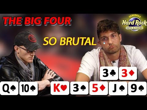 Poker Night Presents  The Big Four  Part One