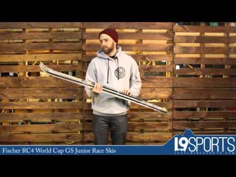 Fischer RC4 World Cup GS Junior Race Skis