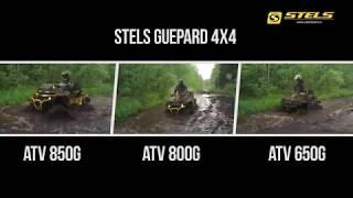 Сравнительный обзор квадроциклов STELS GUEPARD 650 800 850