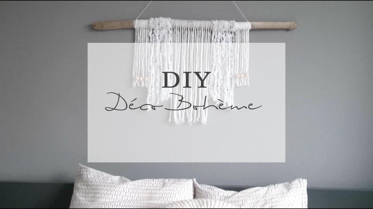 diy tissage mural boh me pierre papier ciseaux youtube. Black Bedroom Furniture Sets. Home Design Ideas