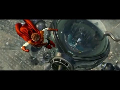 Titan Vs. Megamind - epic battle scene